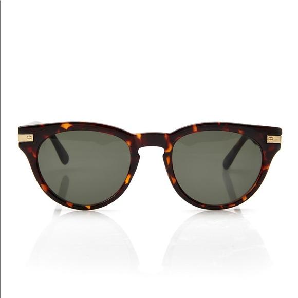 d523211810 Cole Haan Accessories - Cole Haan C6090 Tortoise Wayfarer Round Sunglasses